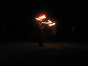 Fire Hooping Hoopanista