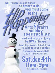 Hip Happening Arts & Crafts Holiday Spectacular