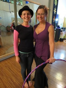 With Caterina at her Breathing Breaks worksop in Portland, Oregon, 2013