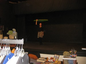 Performing at the Hip Happening Arts & Crafts Holiday Bazaar