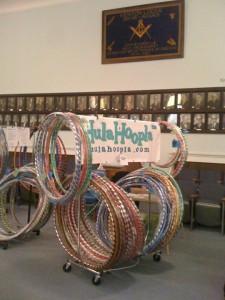 Display at the Kenton Masonic Lodge Arts & Crafts Holiday Bazaar
